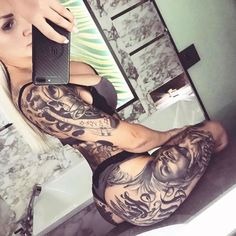 SEXY TATTOOED BABES OF INSTAGRAM - December 31 2017 at 11:37AM : #Fitspiration and Sexy #Fitspo Babes - FitFam and #BeastMode Girls - Health and Exercise - Exotic Bikini and Beach Bodies - Beautiful and Strong Crossfit Athletes - Famous #Fitness Models on Instagram - #Inspirational Body Goals - Gym Inspo and #Motivational Workout Pins by: CageCult