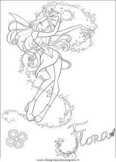 WINX CLUB Coloring Pages 74 Online Toy Dolls Printables For Girls