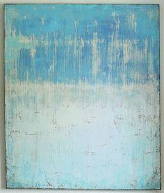 CHRISTIAN HETZEL Azzurro 2014 - 120 x 100 x 4 cm - Acryl auf Leinwand