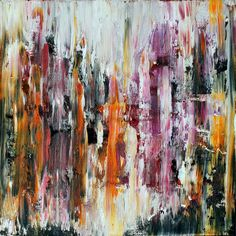 ARTFINDER: Undefined n.º 35 by Carla Sá Fernandes - This oil painting is done on gallery wrapped canvas, with no need for framing, as the edges are painted. Ready to hang. *** International Buyers*** Im...