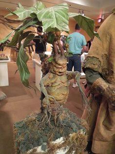 Harry Potter and the Chamber of Secrets Baby Mandrake prop