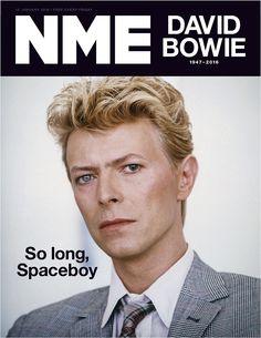 Paul McCartney: 'David Bowie's star will shine in the sky forever' - NME Nme Magazine, Magazine Wall, Magazine Covers, Katherine Ryan, David Bowie Born, Bowie Starman, The Thin White Duke, World Press, Ziggy Stardust