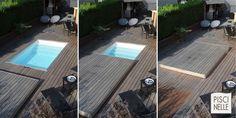 A la fois terrasse mobile et organe de sécurité, le Rolling Deck vient se positionner avec la plus grande facilité au-dessus de votre piscine ou dans sa continuité.
