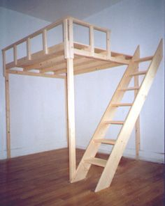 we then built our top railing using 1x2 wood and installed in on the loft for safety. Black Bedroom Furniture Sets. Home Design Ideas