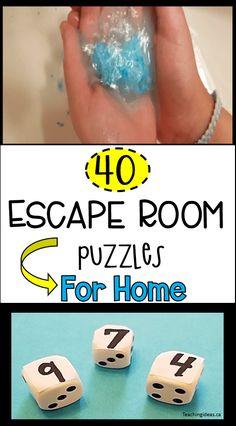 Escape Room Diy, Escape Room For Kids, Escape Room Puzzles, Kids Room, Escape Room Challenge, Stem For Kids, Kids Hands, Family Game Night, Diy Crafts For Kids
