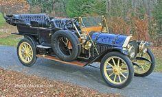 1910 Thomas-Flyer 6-70 Seven Passenger Touring Car - (E. R. Thomas Motor Car Co. Buffalo, New York 1902-1919)