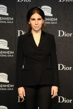 Fabulously Spotted: Zosia Mamet Wearing Christian Dior - Guggenheim International Gala - http://www.becauseiamfabulous.com/2013/11/zosia-mamet-wearing-christian-dior-guggenheim-international-gala/