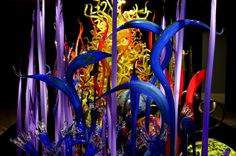 Glass Art Exhibitions Around the World by Dale Chihuly