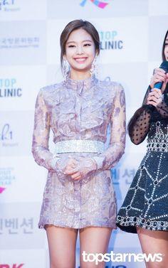 [HD포토] 블랙핑크(BLACKPINK) 제니 웃는 모습도 예쁘네  #서울가요대상 #블랙핑크 #BLACKPINK #제니