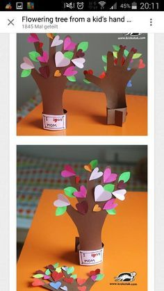 Projects For Kids, Diy For Kids, Crafts For Kids, Spring Activities, Craft Activities, Scripture Crafts, Tree Day, Art Education Lessons, Footprint Art