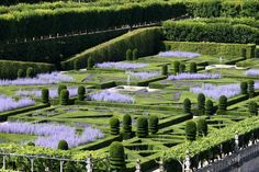 gardens of france | the gardens of chateau of villandry are some of the best known and ...