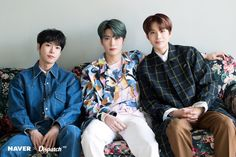 NCT handsome trio guys flaunt dashing visuals Who: Doyoung, Jaehyun, Jungwoo (NCT
