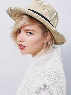 Sun 'N' Sand Stockton Straw Hat at Free People Clothing Boutique