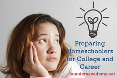 """Founders Academy explains the importance of """"Preparing Homeschoolers for College and Career"""" Join us for Economics and US Government this spring, and earn homeschool high school graduation credit."""