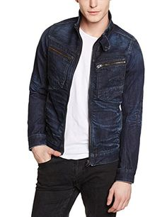 G-Star Men's Arc Zip 3D Slim Fit Jacket   G-Star Men's Arc Zip 3D Slim Fit Jacket Slim denim jacket with a double-layer collar and heavy gauge zips on the placket and pockets.  http://www.allmenstyle.com/g-star-mens-arc-zip-3d-slim-fit-jacket/