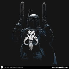 Galactic Punisher T-Shirt - Boba Fett T-Shirt is $11 today at Ript!
