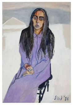 Alice Neel, Ginny (1984), oil on canvas