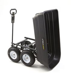 Garden Dump Cart Wagon Yard Utility 1K Capacity Trailer Hauling Wheelbarrow 41.5 #Gorilla