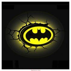 Lampka Batman 3D - logo