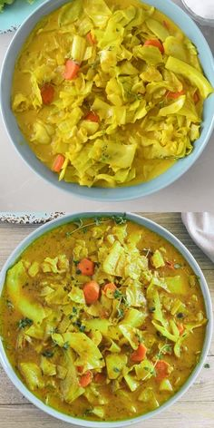 quick and easy Curry Cabbage will be a sure hit! It is not only healthy but astonishingly full of flavor and easy to prepare.This quick and easy Curry Cabbage will be a sure hit! It is not only healthy but astonishingly full of flavor and easy to prepare. Healthy Recipes, Vegetable Recipes, Indian Food Recipes, Vegetarian Recipes, Cabbage Recipes Indian, Vegan Cabbage Recipes, Homemade Vegetable Soups, Vegan Recipes Videos, Vegetarian Barbecue
