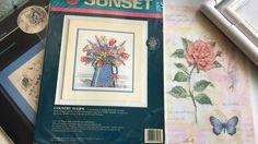 ☛ ЗАВЕРШЕНИЕ Dimensions Whispers Delicate Rose 35042 🌹 CП Любимый Dimens...