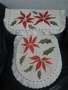 Christmas Toilet Cover 25.00 USD +shipping