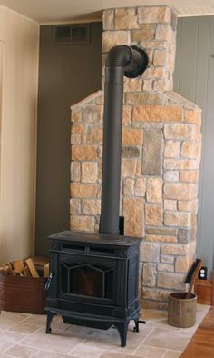 Wood Stove Tin Tile Wall Wood Stoves Pinterest