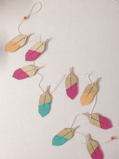 Image of MINI FEATHER GARLAND