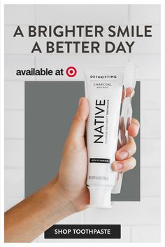 Natives have a mission, to make the products you use everyday that bit better for your body. Native's toothpaste is SLS & SLES free, vegan and it gives your teeth a great clean. Tap the Pin to shop. Stevia, Charcoal Toothpaste, Charcoal Teeth, 21 Day Fix Meal Plan, Teeth Care, Smile Teeth, Teeth Whitening, Skin Care Tips, Body Care