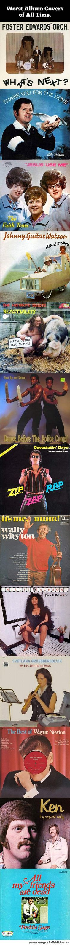 The Worst Album Covers Of All Time