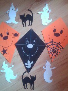halloween dekoráció papírból