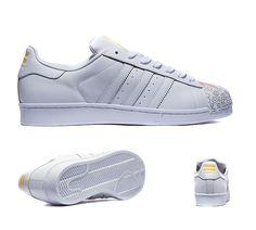 timeless design dc761 b2c3c Adidas Originals Pharrell Superstar Supershell White Sneakers Online UK  Mens Shoes Uk, Adidas Running Shoes