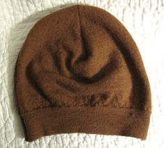 Resweater: It's Tutorial Tuesday! - Emily's hat