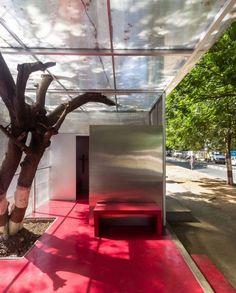 The Light box a restroom for women by Rohan Chavan