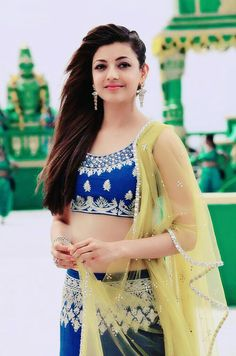 Kajal Aggarwal is an Indian film actress and model. She has established a career in the Telugu and Tamil film industries and has been nominated for four Filmfare Awards South. Actress Pics, Indian Film Actress, Indian Actresses, Beautiful Bollywood Actress, Most Beautiful Indian Actress, Prettiest Actresses, Beautiful Actresses, South Actress, South Indian Actress