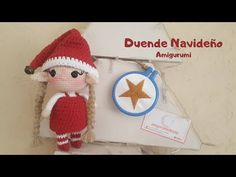 Como tejer un DUENDE AMIGURUMI a CROCHET paso a paso - YouTube Amigurumi Doll, Crochet Patterns, Christmas Ornaments, Holiday Decor, Youtube, Elf, El Paso, Gnomes, Elves