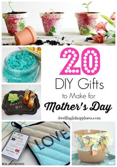 20 DIY Gifts to Make for Mother's Day - Dwelling In Happiness