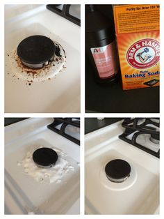 How to Clean your Stove with Baking Soda and Vinegar Cleaning Hacks So reinigen Sie Ihren Herd mit Backpulver und Essig Diy Home Cleaning, Household Cleaning Tips, Deep Cleaning Tips, Toilet Cleaning, Cleaning Recipes, House Cleaning Tips, Natural Cleaning Products, Kitchen Cleaning, Bathroom Cleaning