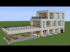 Minecraft – How to build a great modern vacation mansion | Minecraft Stream