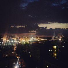 Вернулась пора ночных красивых панорам.Главное-задержаться на работе по-дольше…
