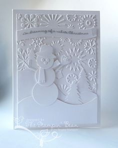 The Stampin' Bean: Dreaming of a White Christmas...