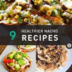 9 Healthier Nacho Recipes For Surviving Football Season Healthy Eating Tips, Healthy Drinks, Healthy Recipes, Eat Healthy, Tailgate Food, Tailgating, Healthy Nachos, Game Day Food, Recipes From Heaven