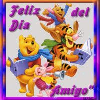 Dia del amigo Animals And Pets, Bowser, Winnie The Pooh, Smurfs, Princess Peach, Inspirational Quotes, Cool, Gifs, Fictional Characters