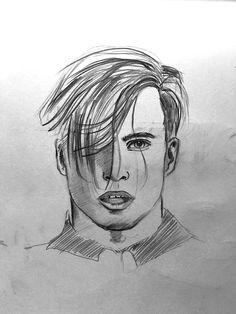 Pencil Drawing, Bleistiftzeichnung