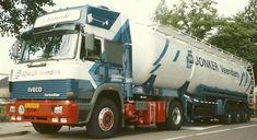 Iveco Turbostar 4x2 met bulktankoplegger van Jonker in Veendam