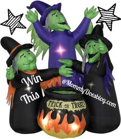 witchy inflatable giveaway