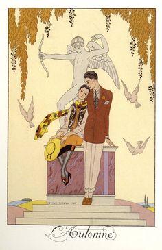 George Barbier, ilustrando la moda | OLDSKULL