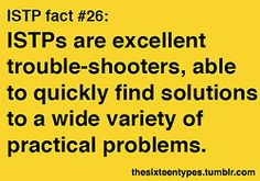 The Sixteen Types. ISTP.