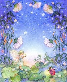 Fairy Art, Dream a Little Dream, Girls Room, Print, Wall Art, Babys room,. $29.99, via Etsy.