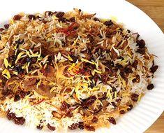Lamb Surbiyaan (Surbiyaan Hilib Adhi - Somalia) – Delicious with lamb (or goat), topped with raisins, caramelized onions and saffron….
